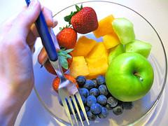 makan malamnya fruitarian, sanggup?