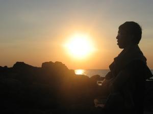 Sunset Pantai Takisung