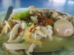 Soto Banjar Bang Amat