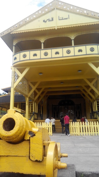 Keraton Kadariah atau Istana Kadariah. Dok: Iqbal