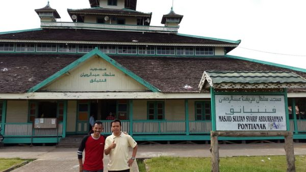 Masjid Jami Pontianak. DOk: Adhika Pratomo