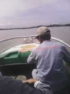 Boat Pak Udin. Dok: Okta Viana Panca Adi
