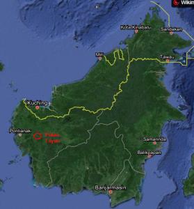 Lokasi Pulau Tayan