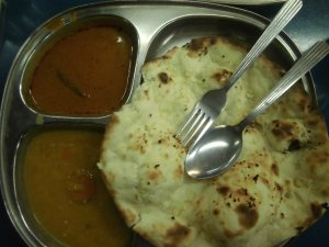 Roti Pratha Onion